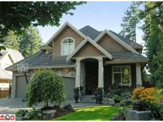 """Photo 1: 14160 33RD Avenue in Surrey: Elgin Chantrell House for sale in """"Estates at Elgin Creek"""" (South Surrey White Rock)  : MLS®# F1123079"""