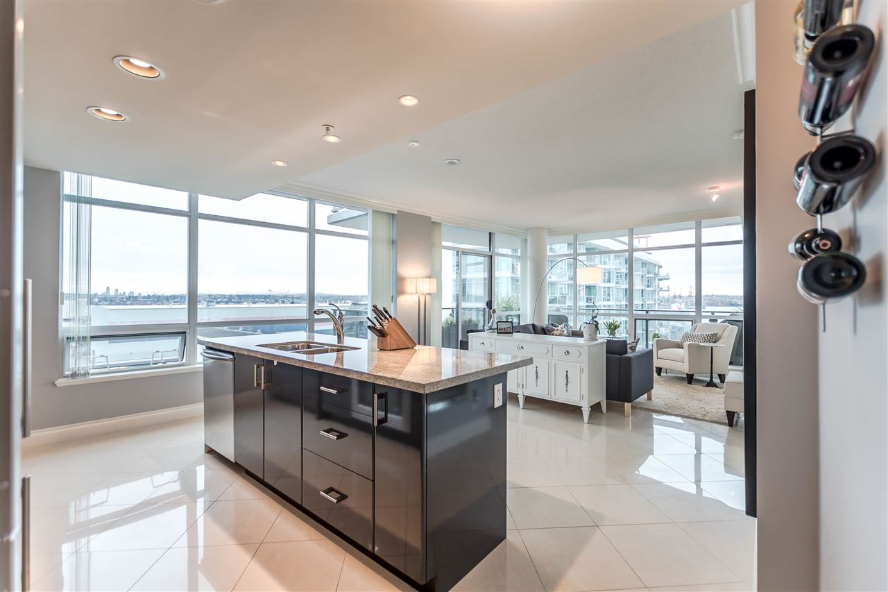 """Photo 8: Photos: 1004 172 VICTORY SHIP Way in North Vancouver: Lower Lonsdale Condo for sale in """"Atrium at the Pier"""" : MLS®# R2147061"""