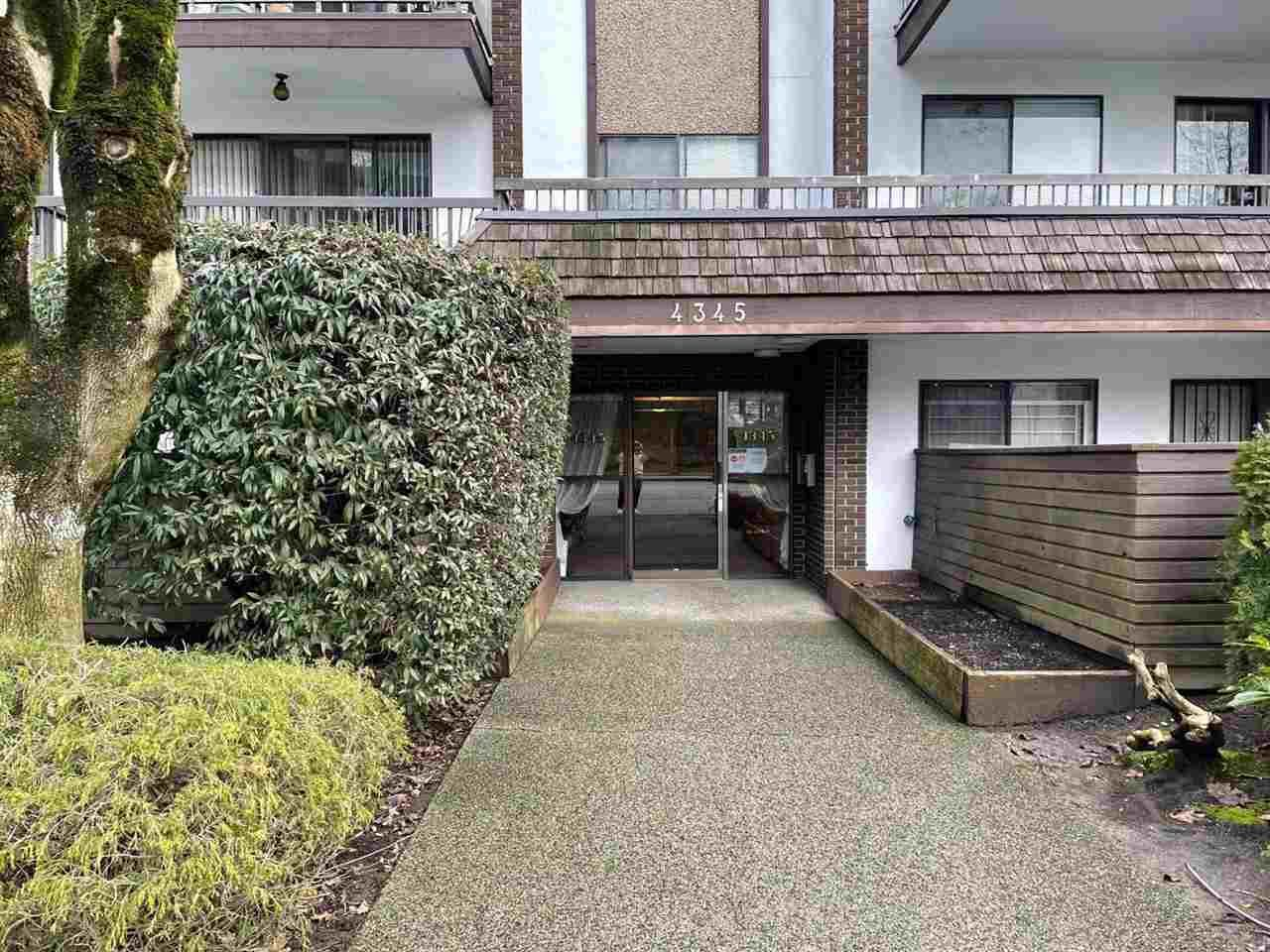 Main Photo: 107 4345 GRANGE Street in Burnaby: Central Park BS Condo for sale (Burnaby South)  : MLS®# R2540911