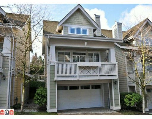 """Main Photo: 6 2588 152ND Street in Surrey: King George Corridor Townhouse for sale in """"WOODGROVE"""" (South Surrey White Rock)  : MLS®# F1003527"""