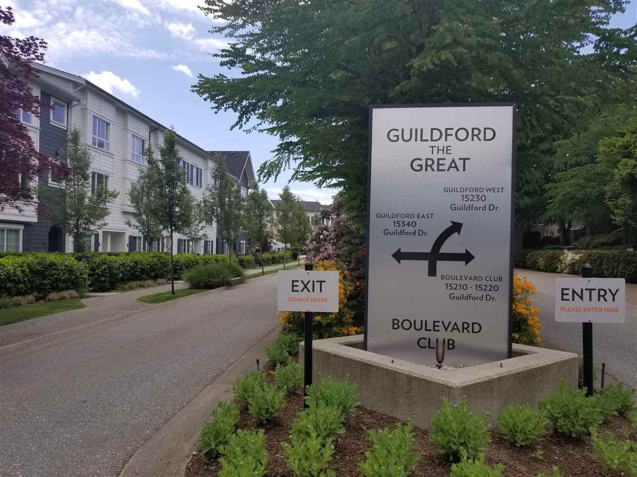 "Main Photo: 11 15340 GUILDFORD Drive in Surrey: Guildford Townhouse for sale in ""GUILDFORD THE GREAT"" (North Surrey)  : MLS®# R2569692"