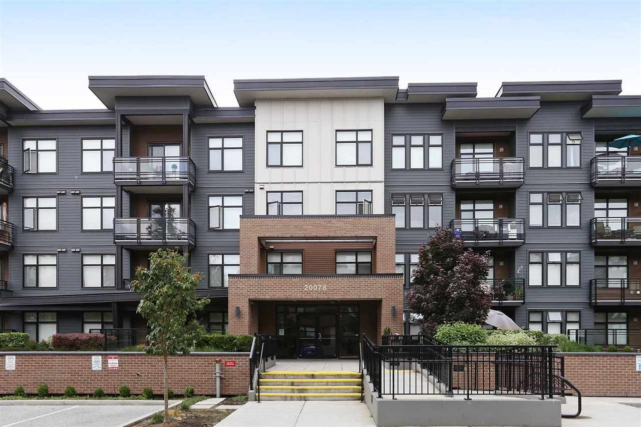 Main Photo: 314 20078 FRASER HIGHWAY in Langley: Langley City Condo for sale : MLS®# R2191210