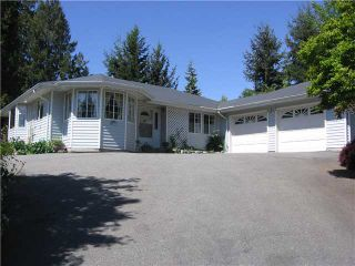 Photo 1: 5210 HEATHER Road in Sechelt: Sechelt District House for sale (Sunshine Coast)  : MLS®# V820656