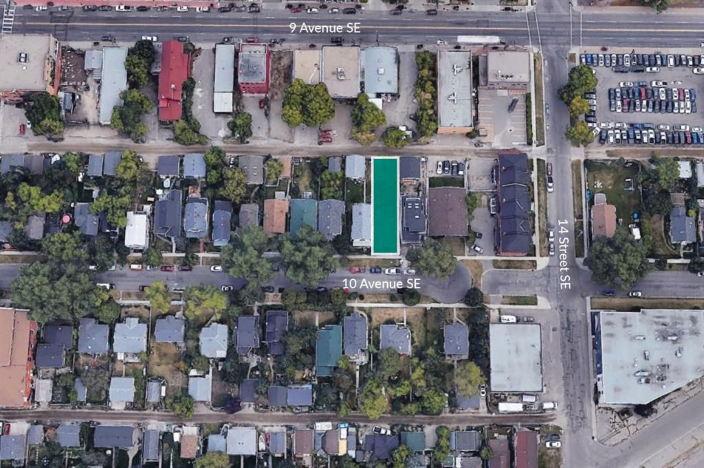 Main Photo: 1430 10 Avenue SE in Calgary: Inglewood Land for sale : MLS®# A1061564