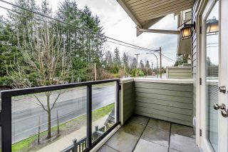 """Photo 8: 109 3382 VIEWMOUNT Drive in Port Moody: Port Moody Centre Townhouse for sale in """"LILLIUM VILLAS"""" : MLS®# R2155402"""