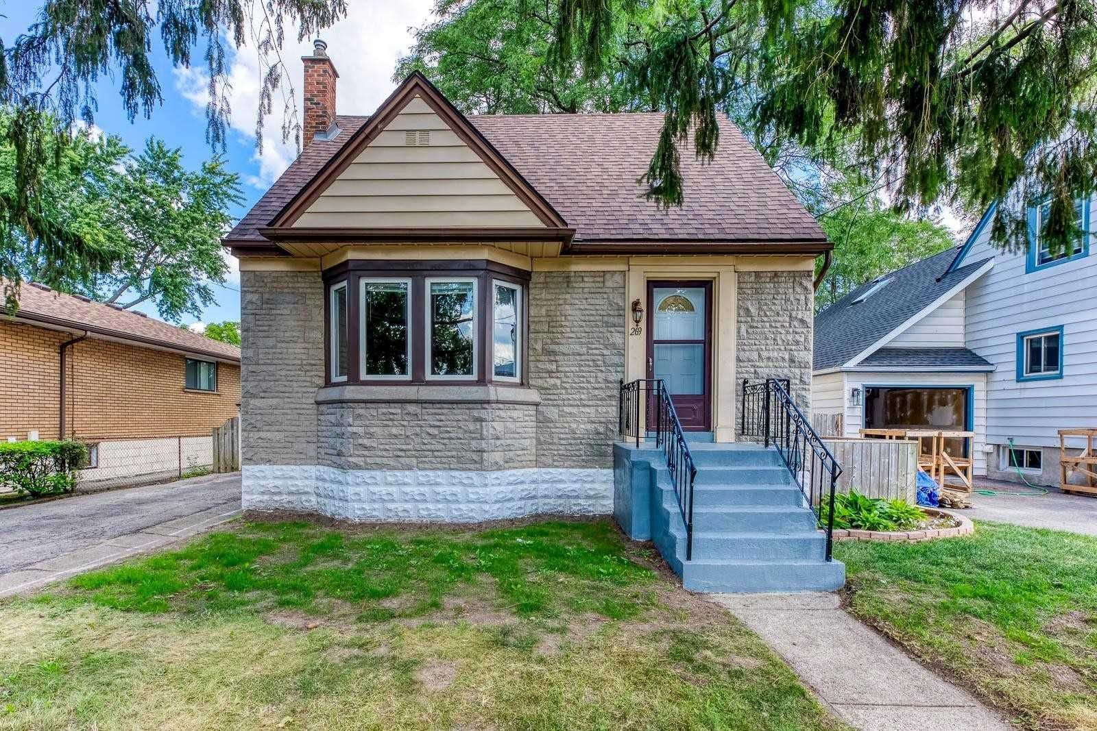 Main Photo: 269 E Queensdale Avenue in Hamilton: Eastmount House (1 1/2 Storey) for sale : MLS®# X5360840