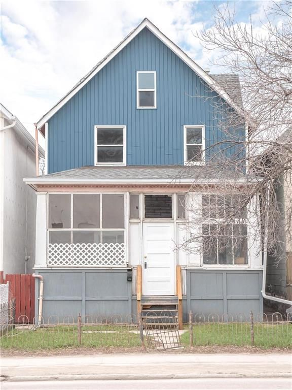 Main Photo: 568 Balmoral Street in Winnipeg: West End Residential for sale (5A)  : MLS®# 202110145