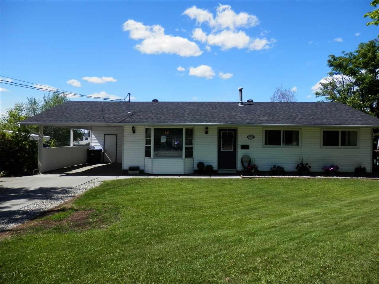 Main Photo: 783 PIGEON Avenue in Williams Lake: Williams Lake - City House for sale (Williams Lake (Zone 27))  : MLS®# R2459919