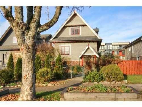 Main Photo: 2637 PENDER Street E in Vancouver East: Renfrew VE Home for sale ()  : MLS®# V1037356