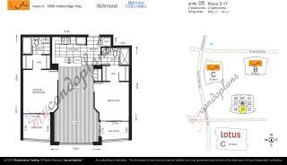 "Photo 2: 1005 6888 ALDERBRIDGE Way in Richmond: Brighouse Condo for sale in ""FLO"" : MLS®# R2480949"