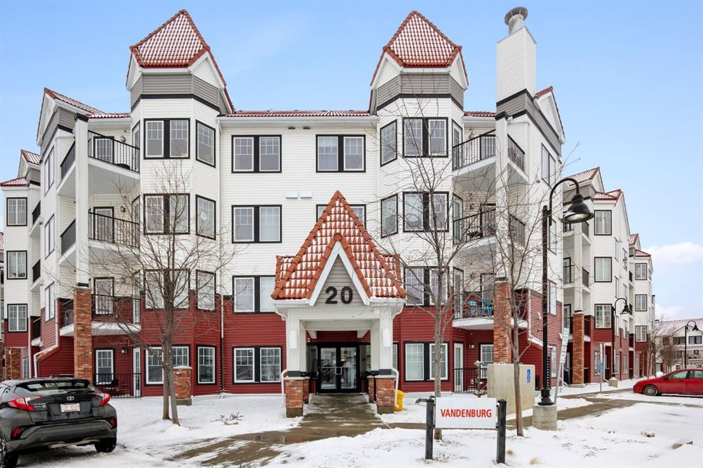Main Photo: 437 20 Royal Oak Plaza NW in Calgary: Royal Oak Apartment for sale : MLS®# A1086630