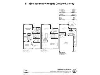 """Photo 35: 11 3303 ROSEMARY HEIGHTS Crescent in Surrey: Morgan Creek Townhouse for sale in """"Rosemary Gate"""" (South Surrey White Rock)  : MLS®# R2584142"""