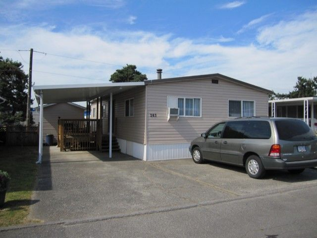 """Main Photo: 263 201 CAYER Street in Coquitlam: Maillardville Manufactured Home for sale in """"WILDWOOD PARK"""" : MLS®# V1037908"""