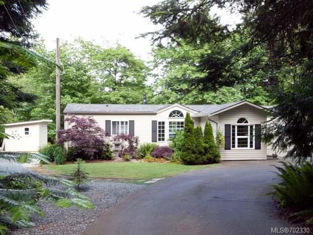 Main Photo: 116 BAYNES DRIVE in FANNY BAY: CV Union Bay/Fanny Bay Manufactured Home for sale (Comox Valley)  : MLS®# 702330