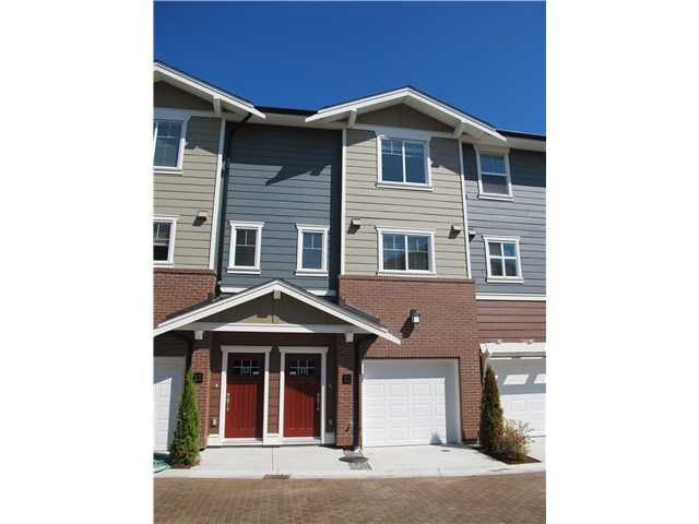 "Main Photo: 11 9580 ALBERTA Road in Richmond: Garden City Townhouse for sale in ""PARKSIDE ESTATES"" : MLS®# V947063"