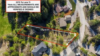 Photo 1: 2275 Ta Lana Trail, in Blind Bay: Vacant Land for sale : MLS®# 10230612