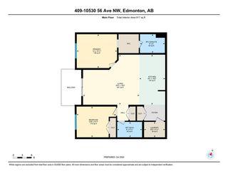 Photo 29: 409 10530 56 Avenue in Edmonton: Zone 15 Condo for sale : MLS®# E4224103
