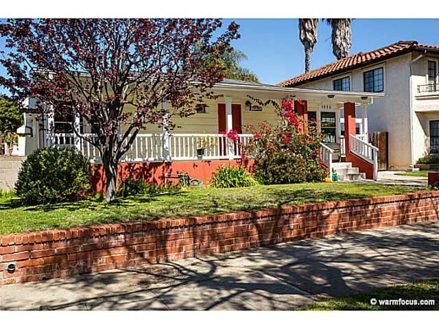 Main Photo: PACIFIC BEACH House for sale : 4 bedrooms : 1430 Missouri Street in San Diego