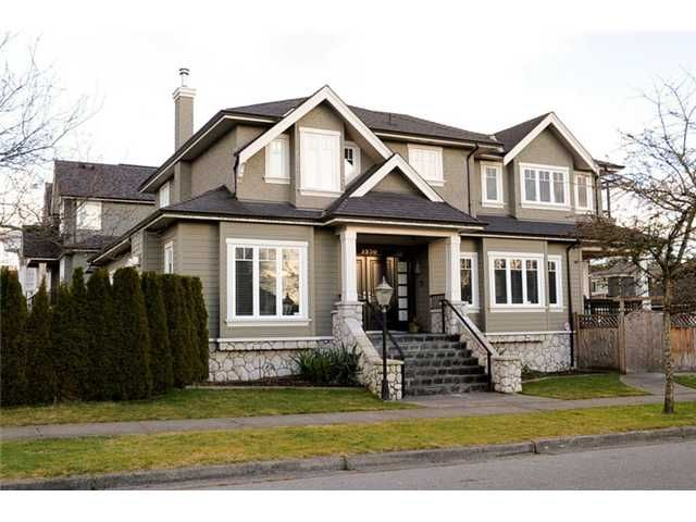 Main Photo: 3330 Yew Street in Vancouver West: Arbutus House for sale : MLS®# V1050574