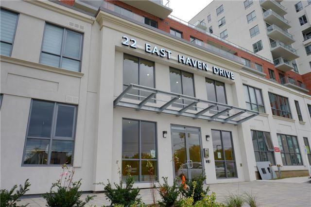 Main Photo: Ph19 22 East Haven Drive in Toronto: Birchcliffe-Cliffside Condo for sale (Toronto E06)  : MLS®# E4275288