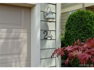 Photo 20: 24 127 Aldersmith Pl in VICTORIA: VR Glentana Row/Townhouse for sale (View Royal)  : MLS®# 738136