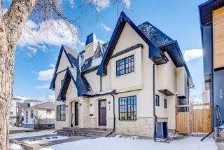 Photo 1: 507 28 Avenue NW in Calgary: Mount Pleasant Semi Detached for sale : MLS®# A1097016
