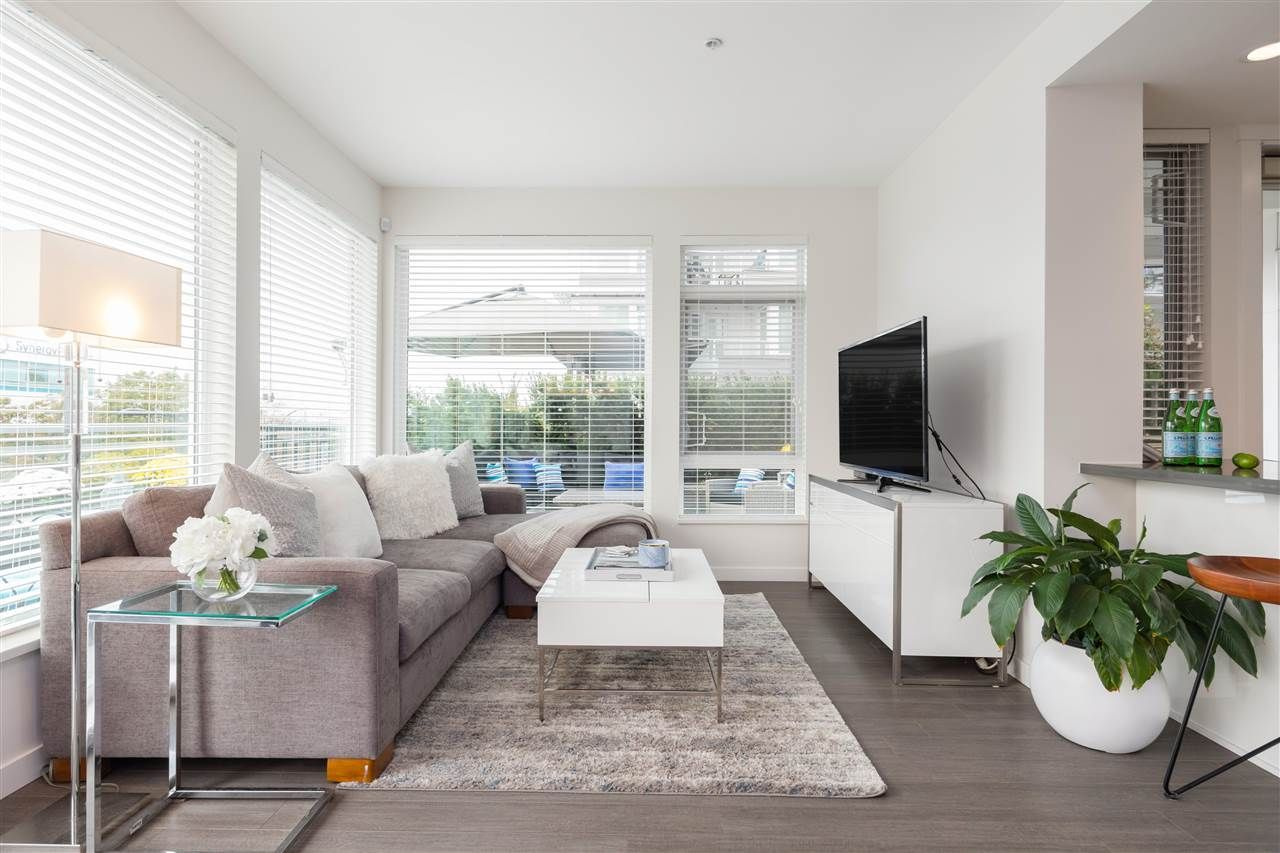 "Main Photo: 109 255 W 1ST Street in North Vancouver: Lower Lonsdale Condo for sale in ""WEST QUAY"" : MLS®# R2508512"
