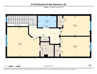 Photo 43: 97 230 EDWARDS Drive in Edmonton: Zone 53 Townhouse for sale : MLS®# E4262589