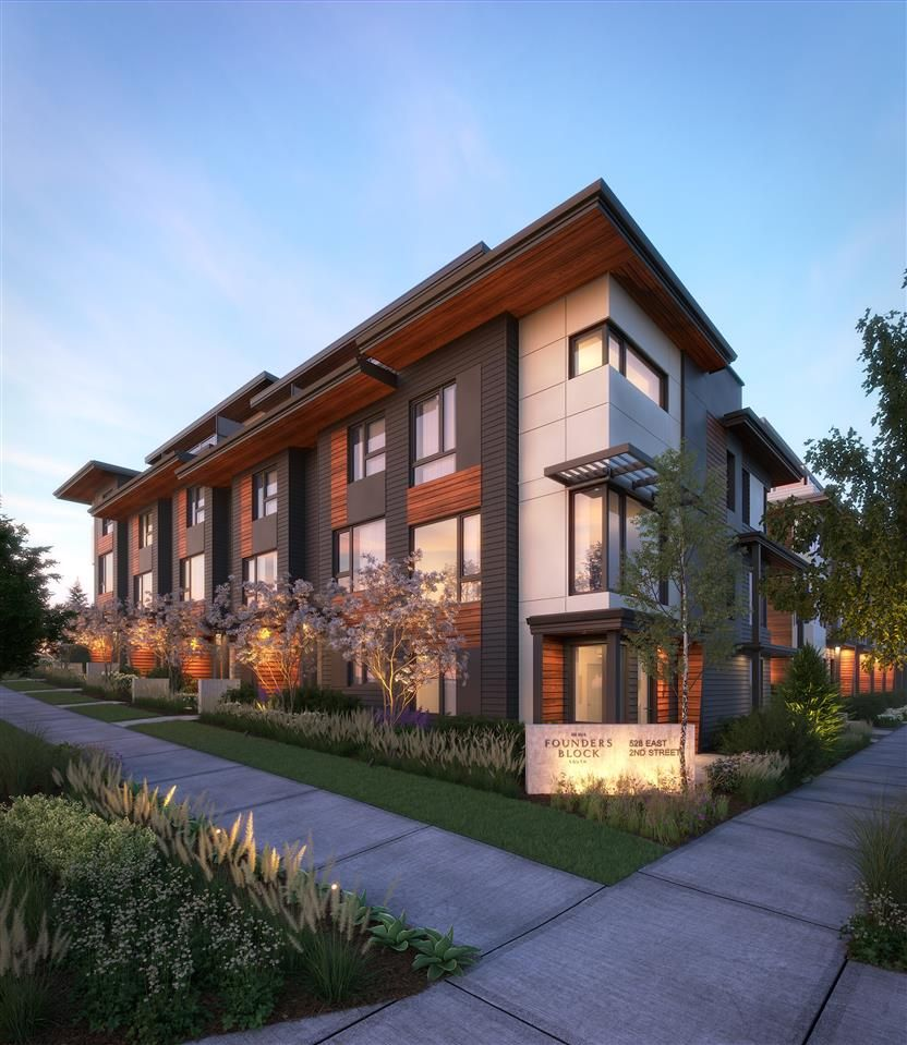 """Main Photo: 36 528 E 2ND Street in North Vancouver: Lower Lonsdale Townhouse for sale in """"FOUNDERS BLOCK SOUTH"""" : MLS®# R2530264"""