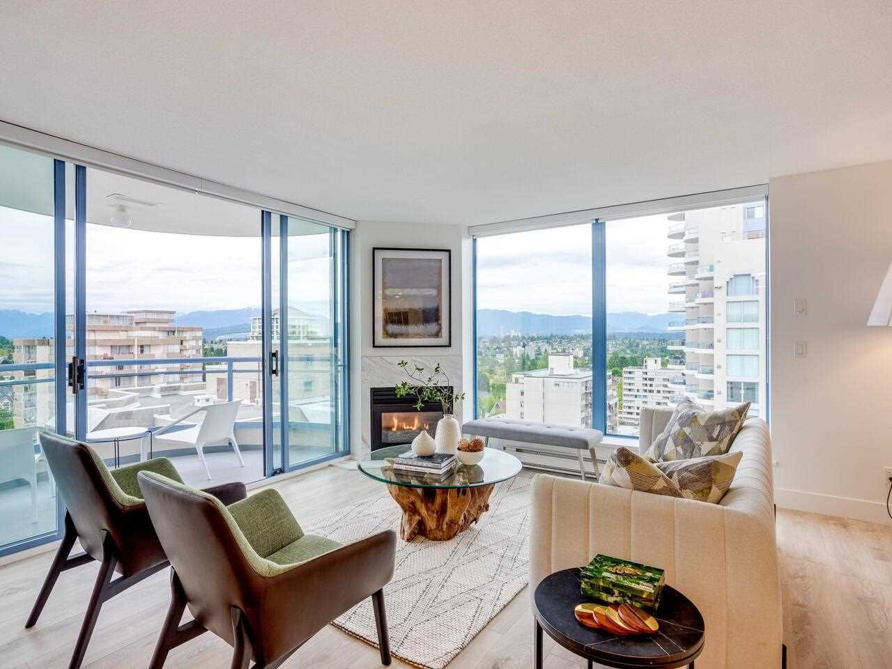 """Main Photo: 1802 739 PRINCESS Street in New Westminster: Uptown NW Condo for sale in """"Berkeley Place"""" : MLS®# R2591827"""