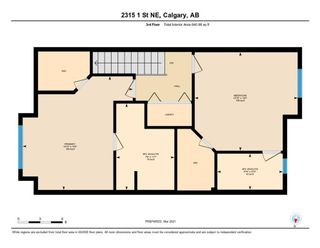 Photo 24: 2315 1 Street NE in Calgary: Tuxedo Park Row/Townhouse for sale : MLS®# A1086504