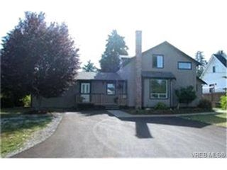 Photo 1: 4123 Elwood Ave in VICTORIA: SW Strawberry Vale House for sale (Saanich West)  : MLS®# 416418