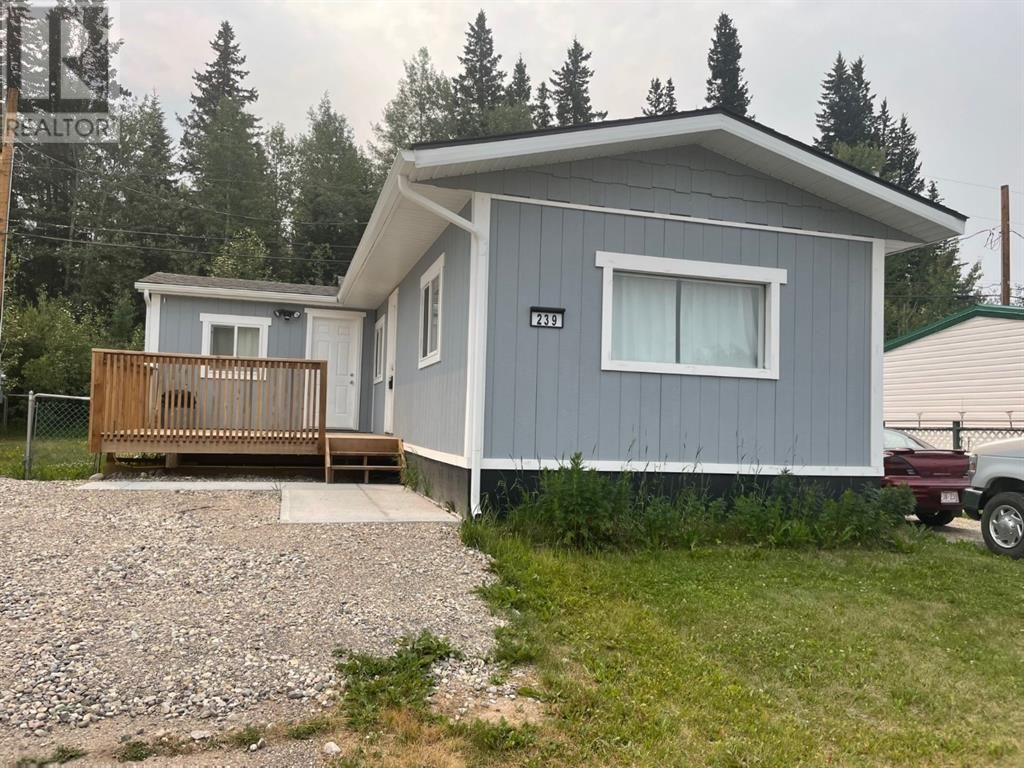 Main Photo: 239, 133 Jarvis Street in Hinton: House for sale : MLS®# A1098343
