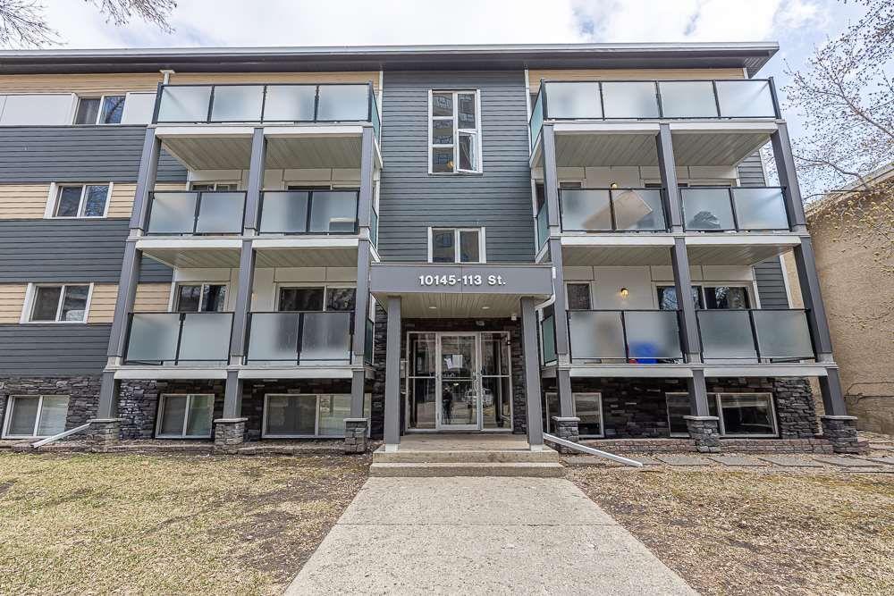 Main Photo: 109 10145 113 Street in Edmonton: Zone 12 Condo for sale : MLS®# E4261021