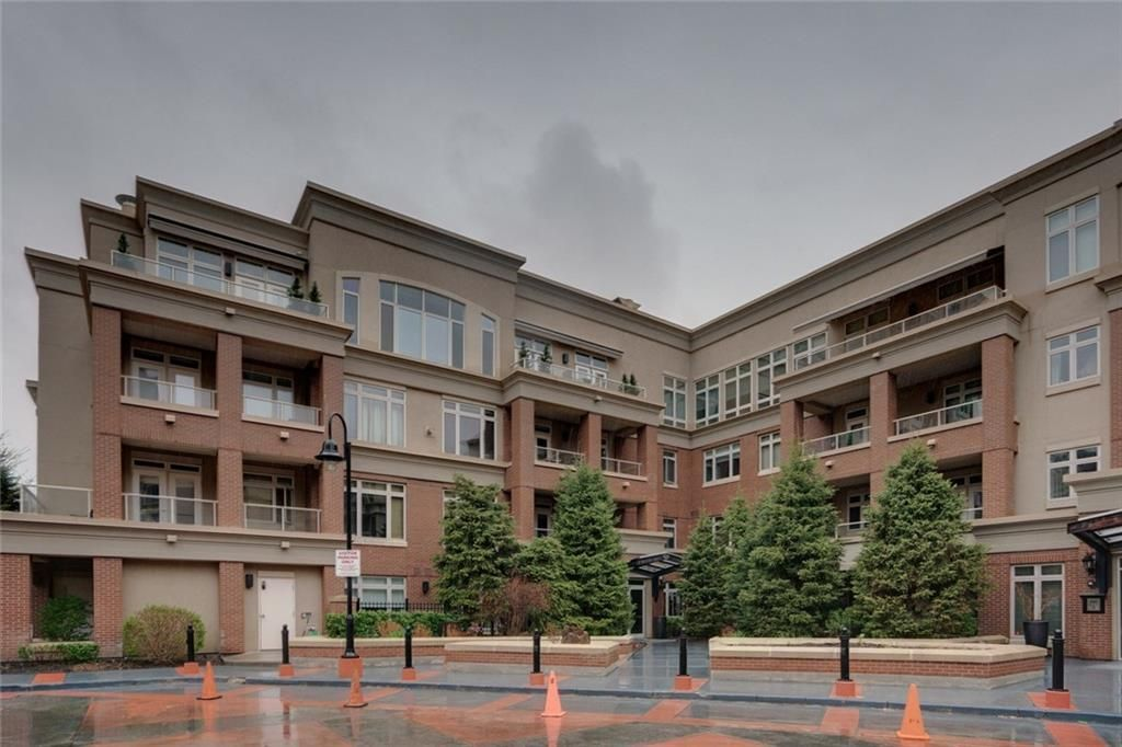 Main Photo: 103 680 Princeton Way SW in Calgary: Eau Claire Apartment for sale : MLS®# A1109337