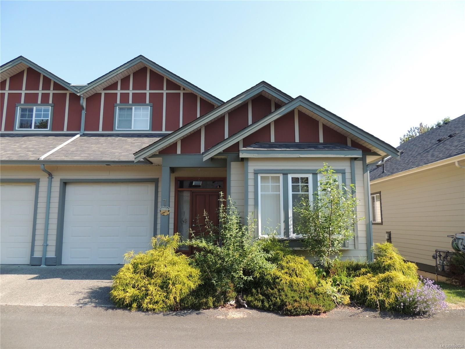 Main Photo: 7 131 McKinstry Rd in : Du East Duncan Row/Townhouse for sale (Duncan)  : MLS®# 880034