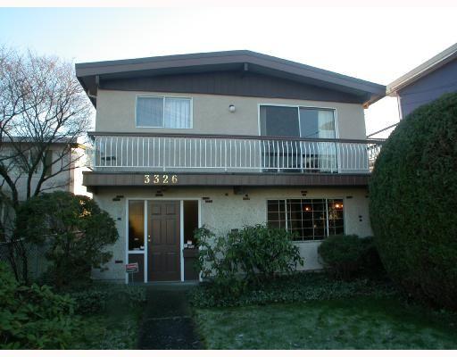 "Main Photo: 3326 SCHOOL Avenue in Vancouver: Killarney VE House for sale in ""KILLARNEY"" (Vancouver East)  : MLS®# V678323"