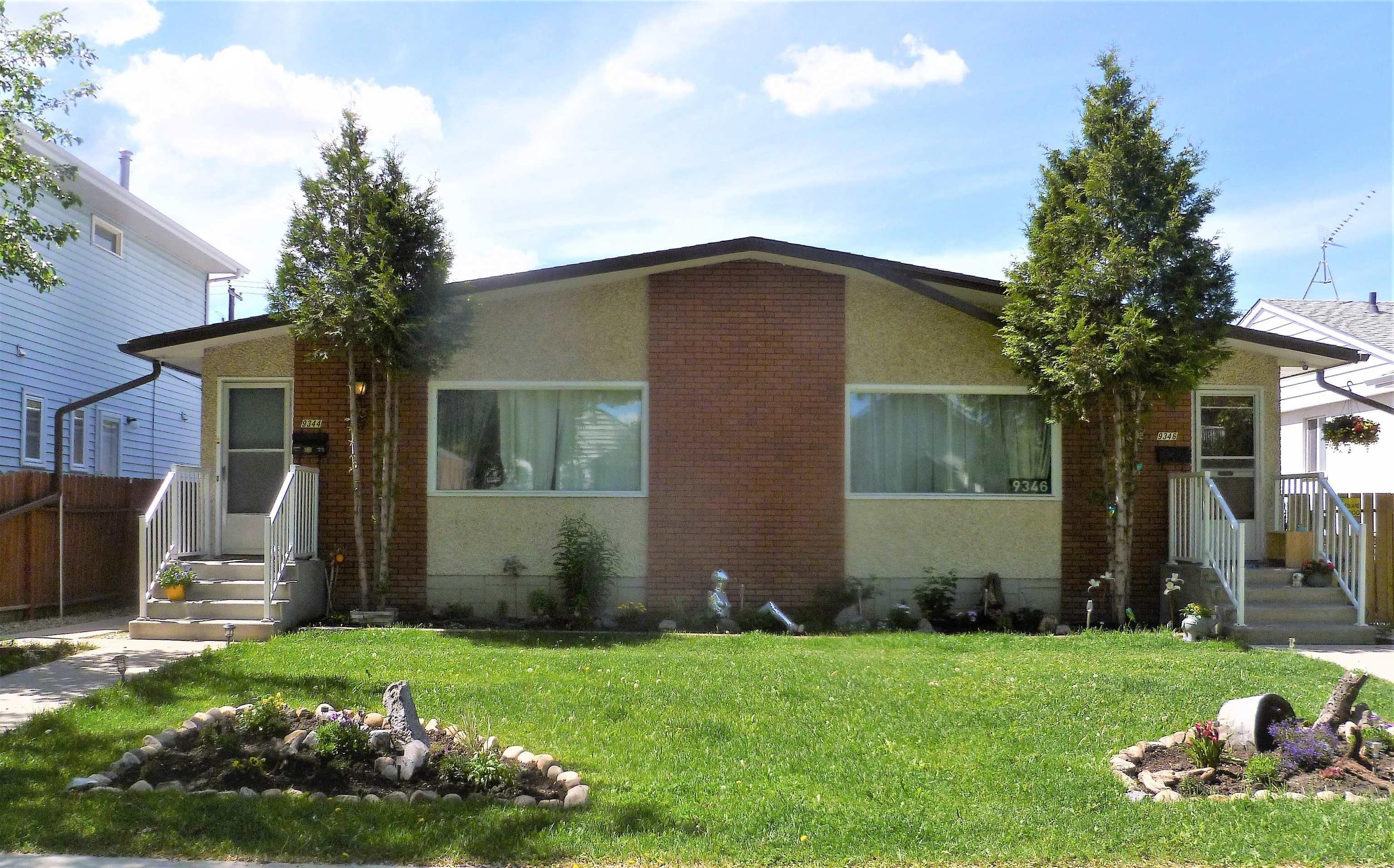 Main Photo: 9344-9346 94 Street in Edmonton: Zone 18 House Duplex for sale : MLS®# E4264306