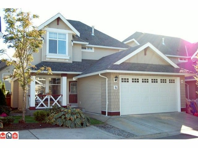 """Main Photo: 14 7067 189TH Street in Surrey: Clayton House for sale in """"CLAYTONBROOK"""" (Cloverdale)  : MLS®# F1025164"""