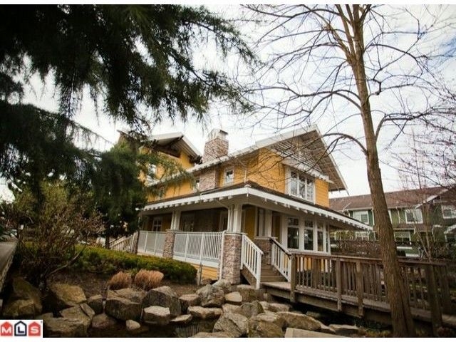 """Main Photo: 168 15236 36TH Avenue in Surrey: Morgan Creek Townhouse for sale in """"SUNDANCE"""" (South Surrey White Rock)  : MLS®# F1107820"""