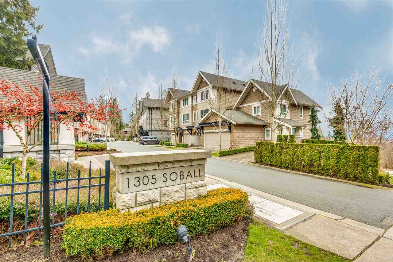 "Main Photo: 18 1305 SOBALL Street in Coquitlam: Burke Mountain Townhouse for sale in ""Tyneridge North by Polygon"" : MLS®# R2541800"
