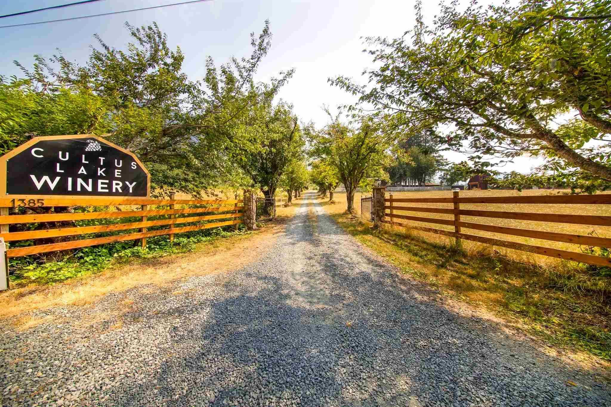 Main Photo: 1385 FROST Road: Columbia Valley Agri-Business for sale (Cultus Lake)  : MLS®# C8039592
