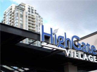 "Photo 1: 701 7088 SALISBURY Avenue in Burnaby: Highgate Condo for sale in ""WEST @ HIGHGATE VILLAGE"" (Burnaby South)  : MLS®# V865273"