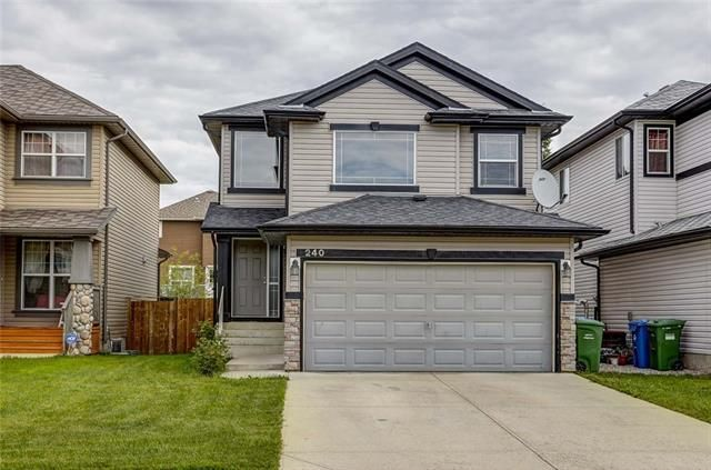 Main Photo: 240 EVERMEADOW Avenue SW in Calgary: Evergreen Detached for sale : MLS®# C4302505