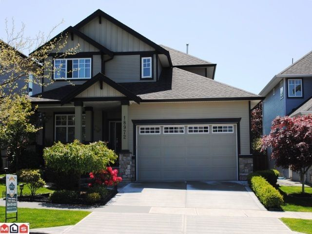 "Main Photo: 18972 68B Avenue in Surrey: Clayton House for sale in ""Clayton Village"" (Cloverdale)  : MLS®# F1014187"