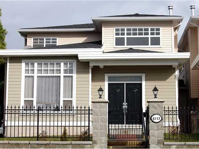 Main Photo: 6117 LOCHDALE Street in Burnaby: Parkcrest 1/2 Duplex for sale (Burnaby North)  : MLS®# V872473