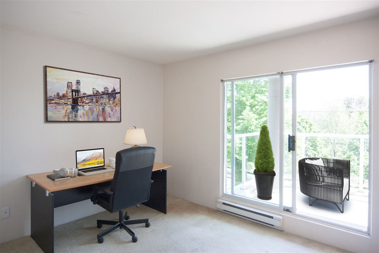 """Photo 3: Photos: 305 8450 JELLICOE Street in Vancouver: South Marine Condo for sale in """"BOARDWALK"""" (Vancouver East)  : MLS®# R2376559"""