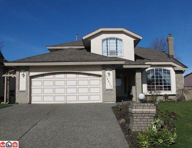 Main Photo: 18877 58 AV in Surrey: House for sale : MLS®# F1104500
