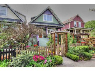 Photo 1: 2639 CAROLINA ST in Vancouver: Mount Pleasant VE House for sale (Vancouver East)  : MLS®# V1062319