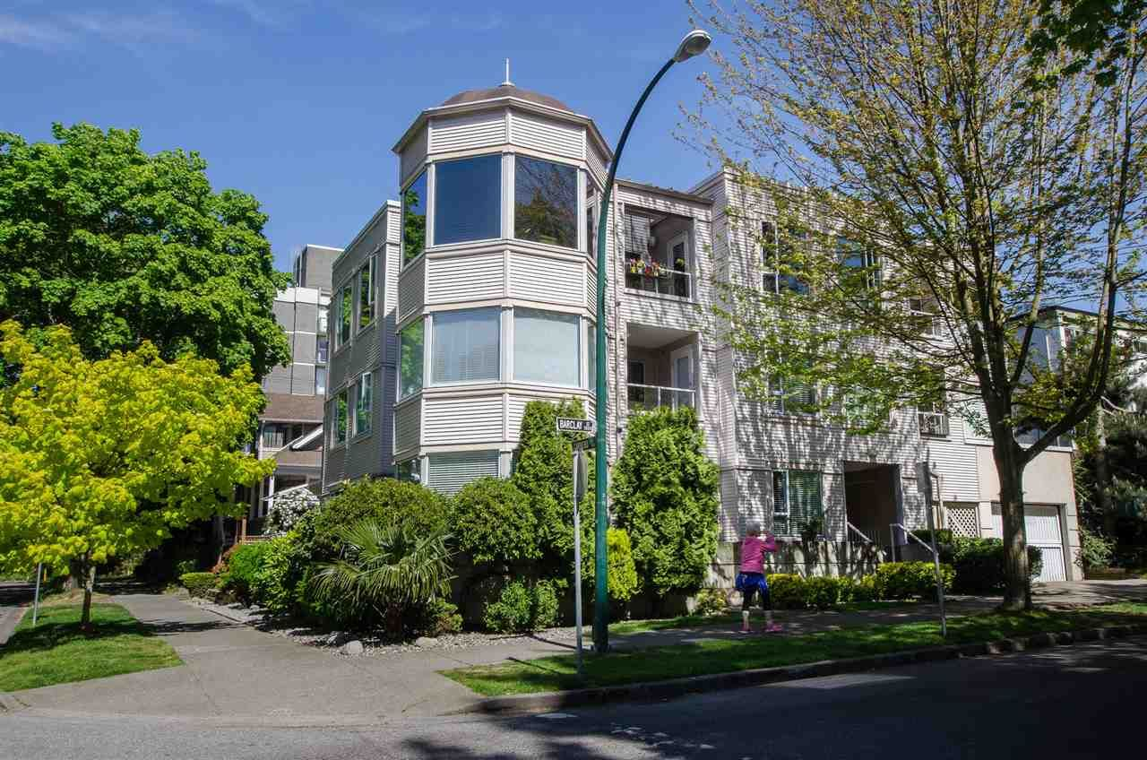 Main Photo: 306 1595 BARCLAY Street in Vancouver: West End VW Condo for sale (Vancouver West)  : MLS®# R2396081